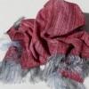 Echarpes - étoles en mousse de laine et soie