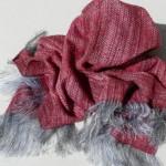 Etole en mousse de laine et soie – coloris lilas