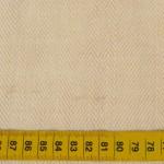 Tissu en coton et chanvre bio