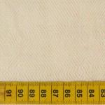 Coton bio et chanvre – poids: 190gr/m² –  largeur: 150cm – colori : écru