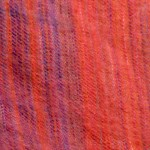 Tissu mohair tissé main – colori : rouge-vert